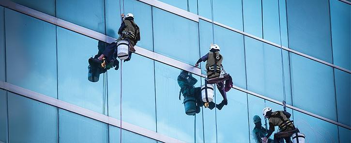 High Rise Window Washing